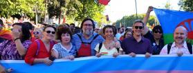 Personas de Plena inclusión participan en el Orgullo 2017