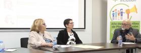 Mesa de familias en la Asamblea de Plena inclusión