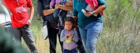 Migrantes en la frontera de Estados Unidos