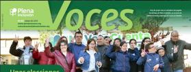 Portada del VOCES de mayo 2019