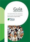 Portada Guía para familiares de alumnos y alumnas con necesidades educativas especiales
