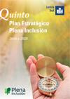 Portada del Quinto Plan Estratégico de Plena inclusión 2016 a 2020 en Lectura fácil