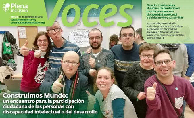 Portada de la revista VOCES 434