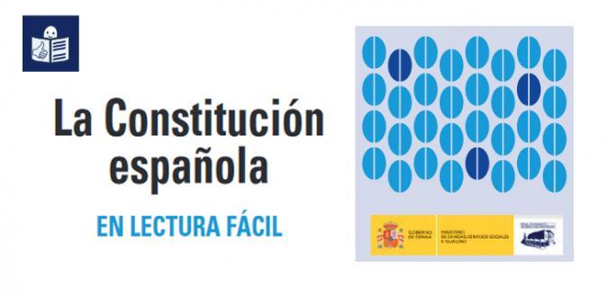 Imagen de portada de la Constitución en lectura fácil