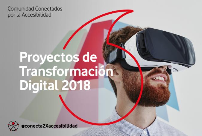 Cartel Proyectos Trasnformación Digital 2018