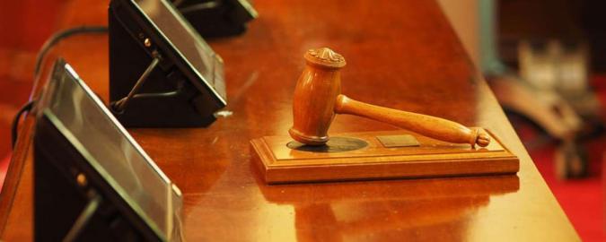 Imagen del mazo de un juez