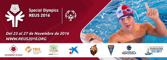 Cartel de los Juegos Special Olympics 2016