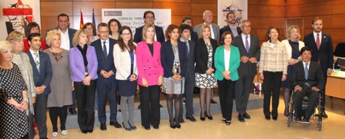 Foto de familia en la reunión del Consejo Territorial de Servicios Sociales y Dependencia