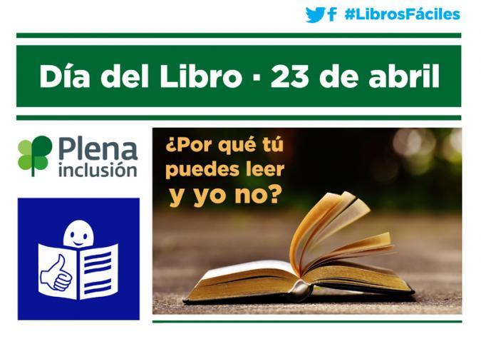 Cartel de la acción del Día del Libro