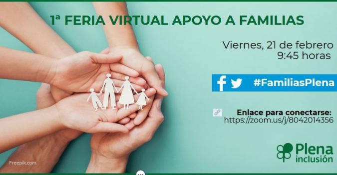 Feria Virtual de Aproyo a Familias