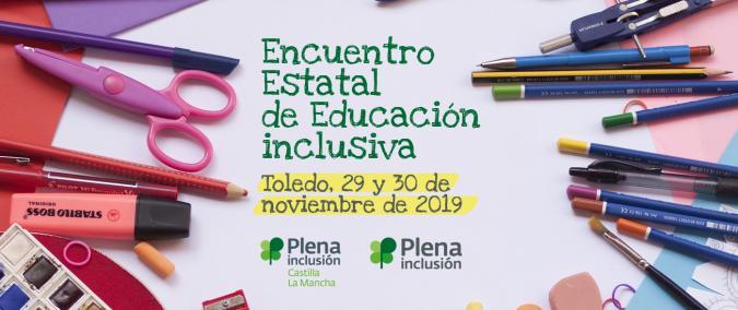 Cartel del Encuentro de Educación inclusiva