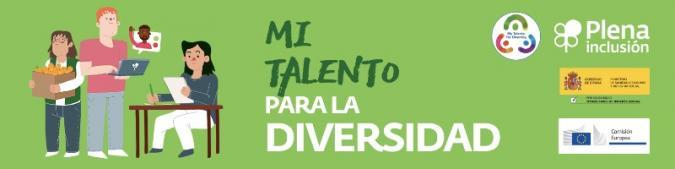 Cabecera Mi talento para la diversidad