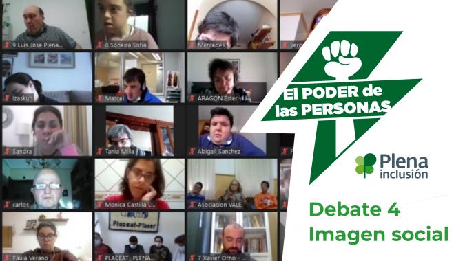 Un momento del cuarto debate del poder de las personas