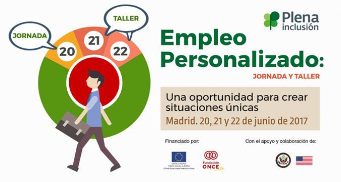 Anuncio de la jornada y taller de empleo personalizado