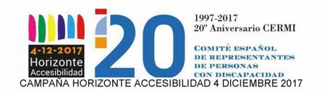 Logotipo de la campaña del CERMI