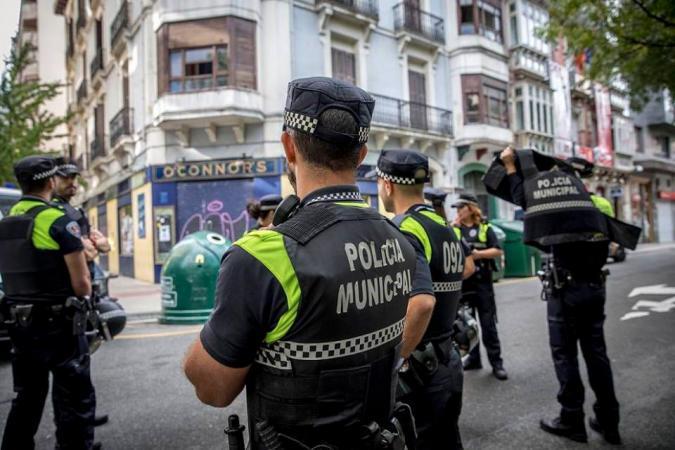 Foto policías municipales