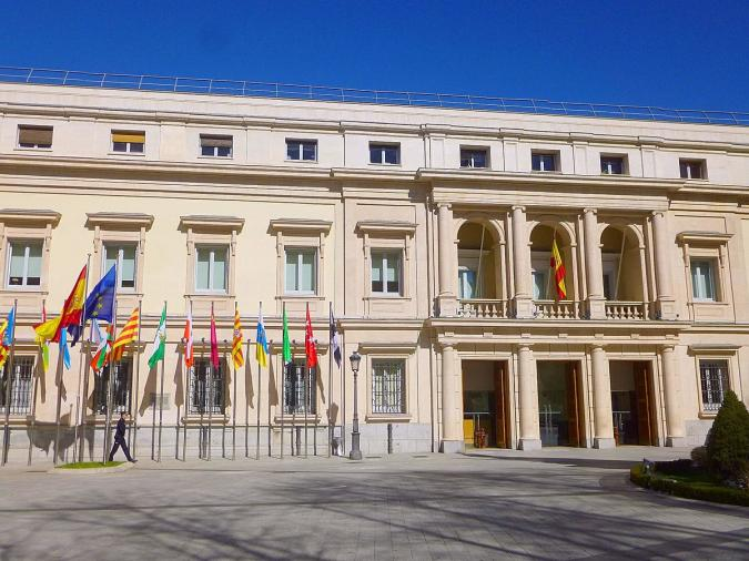 Senado de España. Imagen: Commons