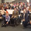 Foto de grupo de un encuentro de Conectados por la accesibilidad