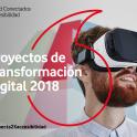 Cartel de la convocatoria de proyectos de transformación digital