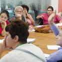 Personas con discapacidad intelectual en evento internacional