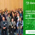 Anuncio del Congreso Zero Project