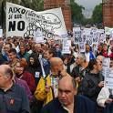 Personas con discapacidad intelectual y sus familias se manifiestan en Cataluña