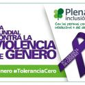 Banner del dia contra la violencia de genero