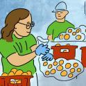 Dibujo de empleo personalizado