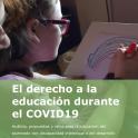 Portada de la Guía El derecho a la Educación durante el COVID-19