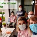 Portada del Plan de Acción de Plena inclusión 2020