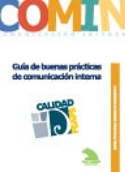 Portada del Cuaderno de Buenas Prácticas. Guía de buenas prácticas de comunicación interna