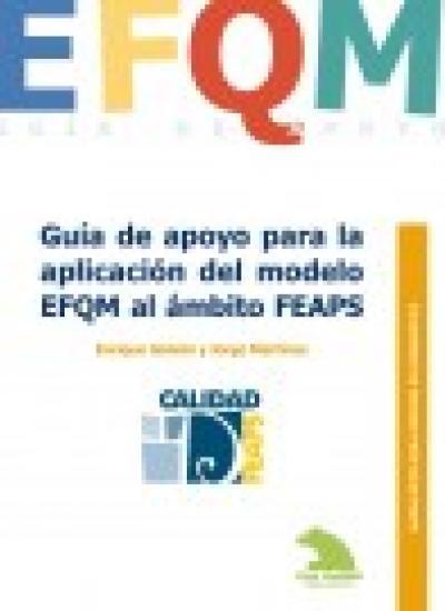 Portada Cuaderno de Buenas Prácticas: Guía de apoyo para para la aplicación del modelo EFQM