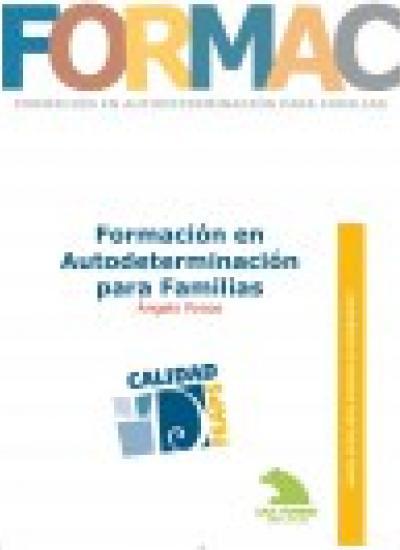 Portada del Cuaderno de Buenas Prácticas: Formación en Autodeterminación para Familias