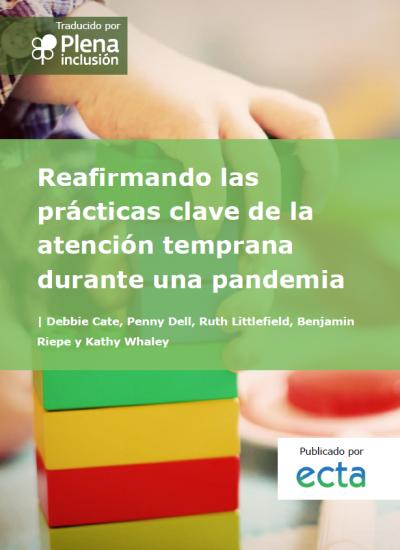 portada Reafirmando las prácticas clave de la atención temprana durante una pandemia