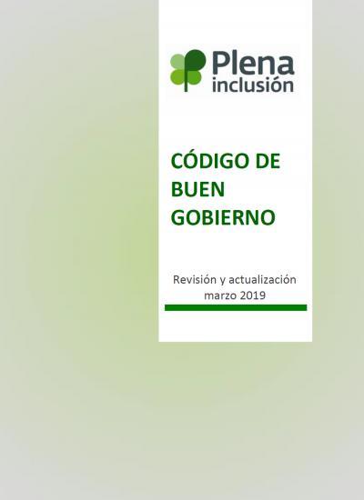 Portada del Código de Buen Gobierno de Plena inclusión