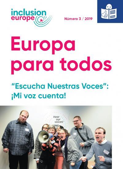 Portada de Europa para todos 3 / 2019