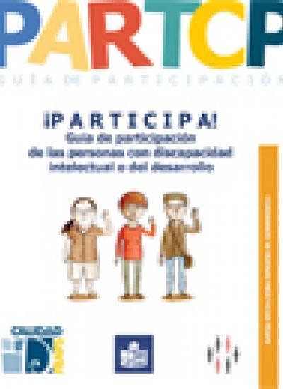Portada de la guía de participación de Plena inclusión