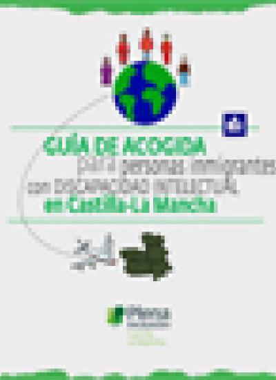 Portada de la Guía de acogida para personas inmigrantes con discapacidad intelectual en Castilla-La Mancha